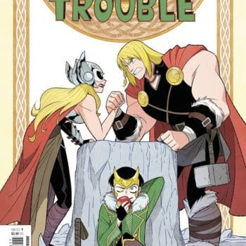 Cover image for THOR AND LOKI DOUBLE TROUBLE #3 (OF 4)