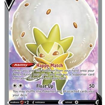 Pokémon TCGO Players Can Claim A Free Eldegoss V Full Art