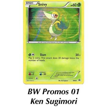 TCG Spotlight: Some Of The Best Snivy Pokémon Cards
