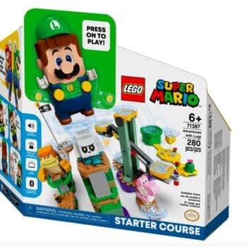 Luigi Gets His Own Super Mario LEGO Starter Course