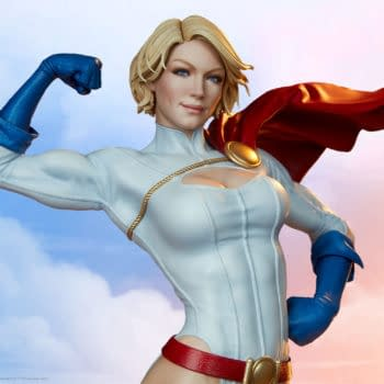 Power Girl Brings The Power to Sideshow Collectibles With Her New Statue