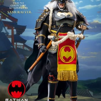 Batman Ninja 2.0 Samurai Gets Deluxe Horse Set From Star Ace