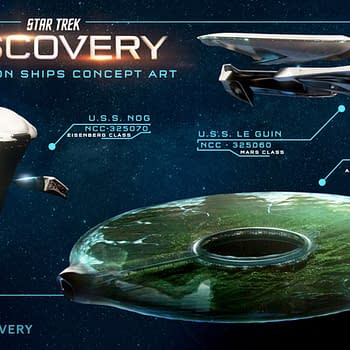 Paramount+ Posts Star Trek: Discovery New Federation Ships Concept Art