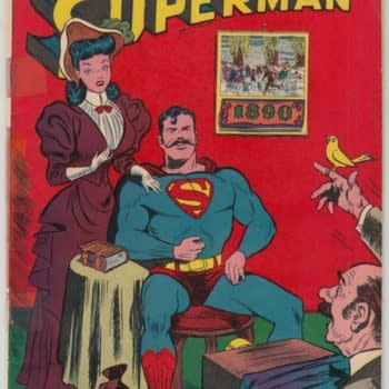 Superman's Mustache Origin On Auction At ComicConnect Today