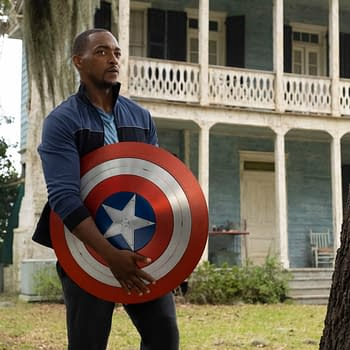The Falcon and the Winter Soldier Art: Sam Wilson Is Captain America