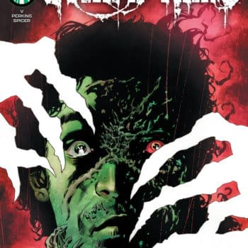 Mike Perkins' cover to The Swamp Thing #2, by Ram V and Mike Perkins, in stores from DC Comics on Tuesday, April 6th, 2021.