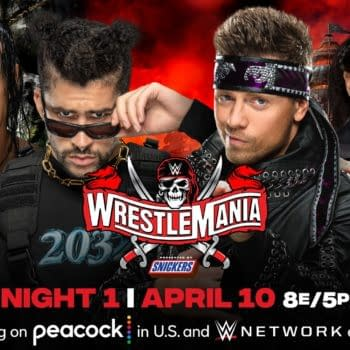 Bad Bunny and Damian Priest will take on Miz and Morrison at WrestleMania