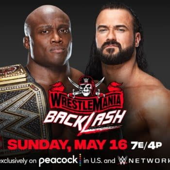 Bobby Lashley will fight Drew McIntyre again at WrestleMania Backlash... but this time, without fans.