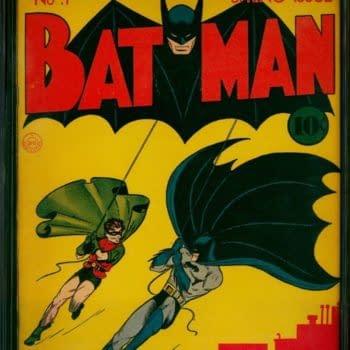Batman #1 Sells For $1,207,500 - A New Record