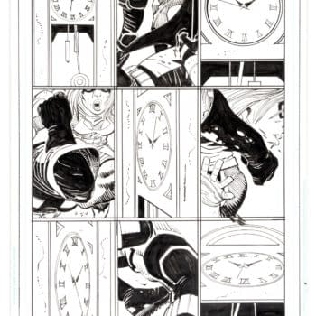 John Romita Jr's Batman Vs Spider-Man Original Artwork At Auction