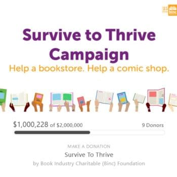 """BINC Launches """"Survive To Thrive"""" Grants For Comic Shops & Bookstores"""