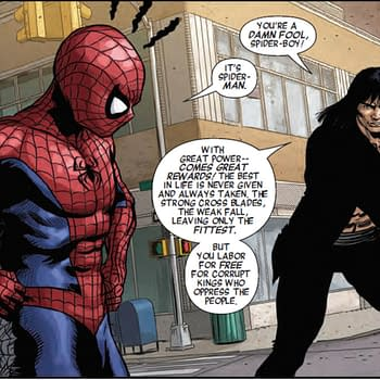 Conan The Barbarian Mocks Spider-Mans With Great Power Speech