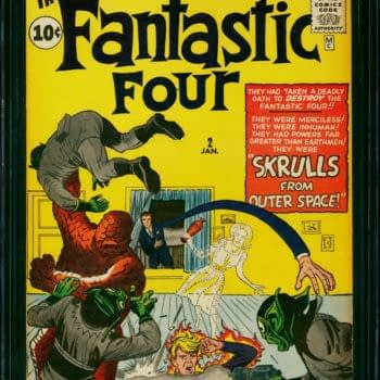 First Appearance Of The Skrulls, Up for Auction Today