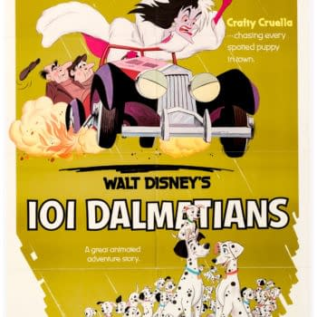 Vintage & Unrestored 101 Dalmatians Poster Hits Auction