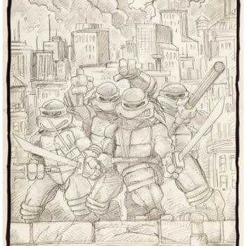 Teenage Mutant Ninja Turtles Original Art Auctioned From $1 to $1100
