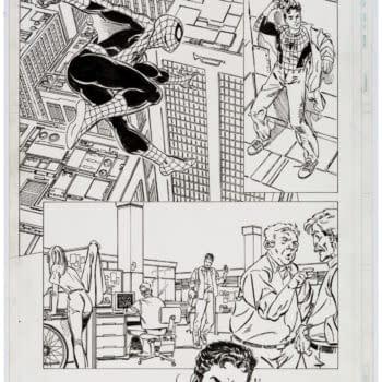 John Byrne Spider-Man Original Artwork Pages Up for Auction