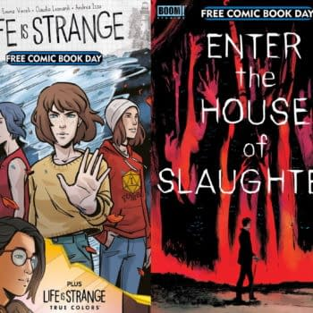 New FCBD Covers For Enter The House Of Slaughter & Life Is Strange