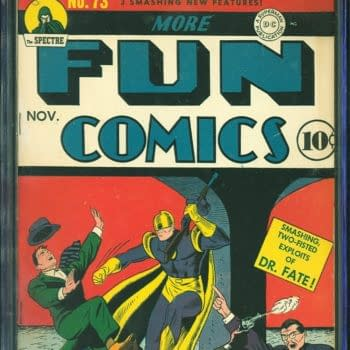 More Fun Comics #73 - First Aquaman and Green Arrow - Up For Auction