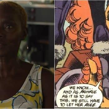 Titans Season 3: Sharon Ferguson Shares Queen Luandr Royal Look