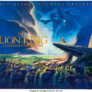 Disney Fans Can Own a Commemorative The Lion King Booklet