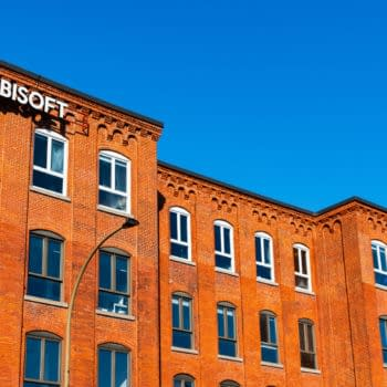Montreal, Canada - April 2021: exterior view of the Ubisoft Headquarters located in the Mile End neighborhood. Editorial credit: Awana JF / Shutterstock.com