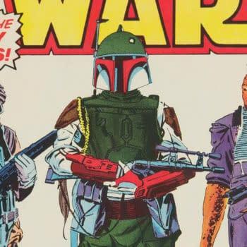 Star Wars #42 featuring Boba Fett, Marvel Comics 1980.