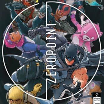 Batman/Fortnite: Zero Point #1 Gets 3rd Printing, #2 & #3 Get Seconds