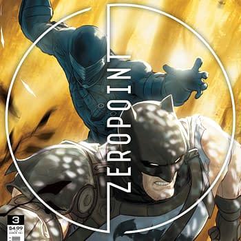 Batman vs. Snake Eyes in Batman Fortnite Zero Point #3 [Preview]