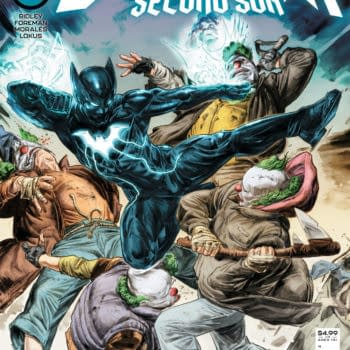 Cover image for NEXT BATMAN SECOND SON #2 (OF 4) CVR A DOUG BRAITHWAITE