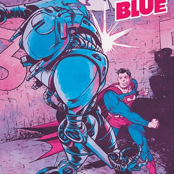 Batman vs. Journalism in Superman Red &#038 Blue #3 [Preview]