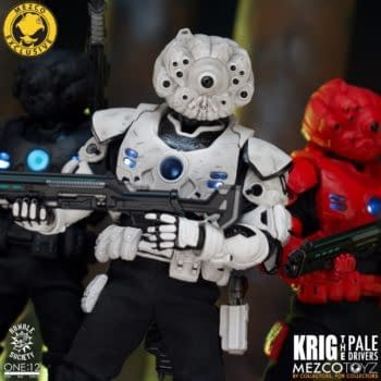 Mezco Toyz Deploys the Pale Driver Krig One:12 Collective Figure