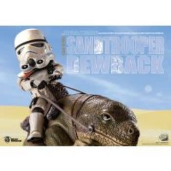 Star Wars Sandtrooper and Dewback Set Coming From Beast Kingdom