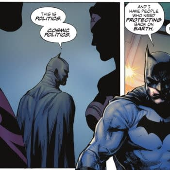 Batman Wants To Get Politics Out Of Comics