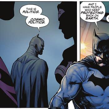 Batman Wants To Get Politics Out Of Superhero Comics (Spoilers)