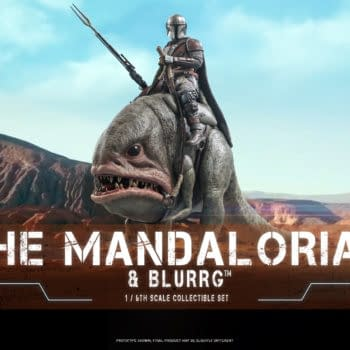 Hot Toys Reveals Star Wars The Mandalorian and Blurg 1/6 Figure Set