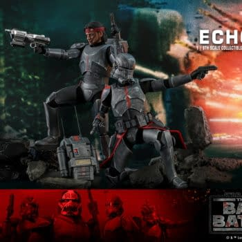Star Wars: The Bad Batch 1/6 Scale Echo Figure Deploys At Hot Toys