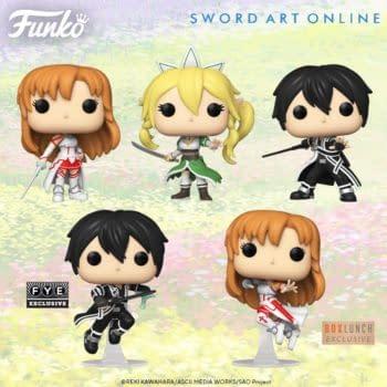 Sword Art Online Receives New Wave of Funko Pop Vinyls