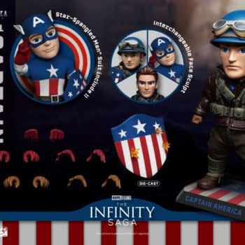 Beast Kingdom Celebrates 80 Years of Captain America With New Figure