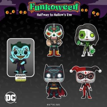 Funko Shows Official Glams of Day of the Dead DC Comics and Fluffy
