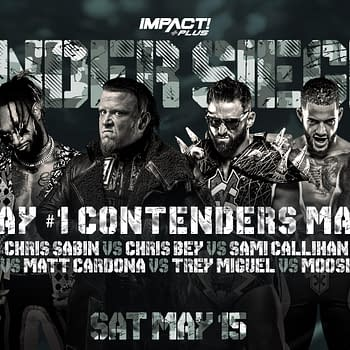 Under Siege #1 Contenders Match Finalized on Impact Wrestling