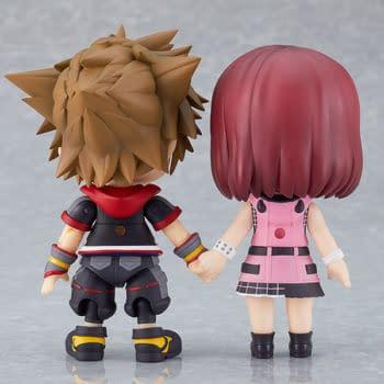 Kingdom Hearts III Kairi Joins the Good Smile Nendoroid Team