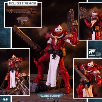 Pre-orders Arrive For New Warhammer 40000 McFarlane Toys Figures