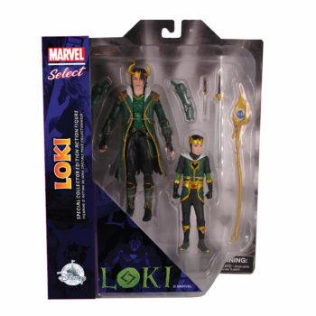 Loki Receives Exclusive Marvel Select Figure at shopDisney