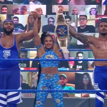 Like Bianca Belair and the Street Profits, WWE Smackdown was victorious in its ratings battle this week.