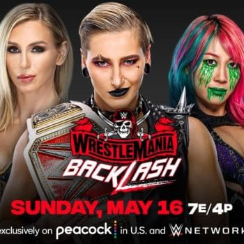 Charlotte Flair will face Asuka and Rhea Ripley at WrestleMania Backlash in a Raw Women's Championship Match