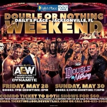 AEW Double or Nothing will open the doors of Daily's Place to full capacity on May 30th.