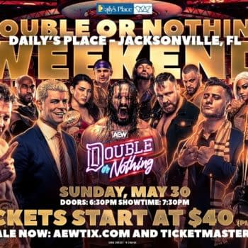 Fans in Florida will have an entire weekend to catch coronavirus at AEW Double or Nothing, but now fans around the country will have a one-night-only chance to catch it watching Double or Nothing in Cinemark theaters.