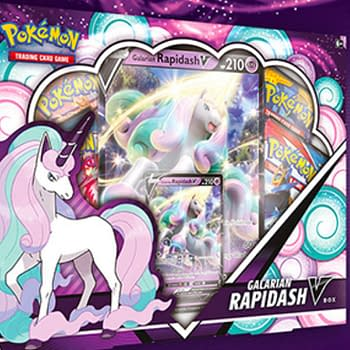 Pokémon TCG Product Review: Galarian Rapidash V Box