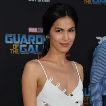 "LOS ANGELES, CA - April 19, 2017: Elodie Yung at the world premiere for ""Guardians of the Galaxy Vol. 2"" at the Dolby Theatre, Hollywood. (Featureflash Photo Agency / Shutterstock.com)"