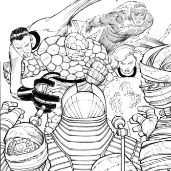 Art by John Romita Jr. for Fantastic Four #35